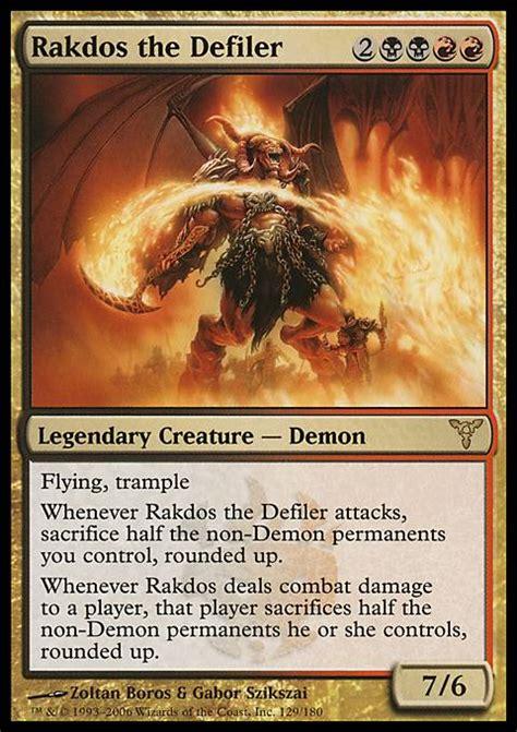 Magic The Gathering Prossh Commander Deck by Rakdos The Defiler Dis Mtg Card
