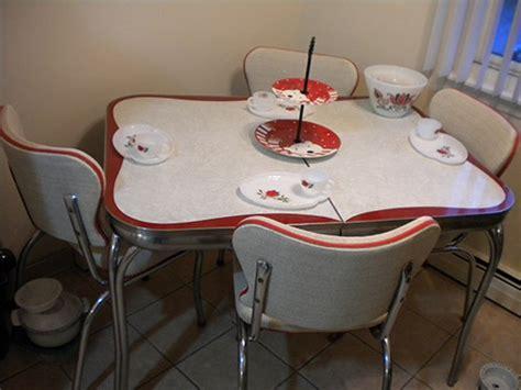 red dinette sets vintage kitchen treasures retro renovation