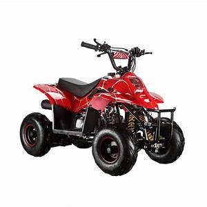Gmx Ripper Spider Red 110cc Sports Quad Bike