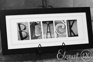 personalized wedding gift holiday christmas gift for With name frames from letter pictures
