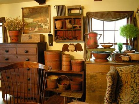 Country Primitive Home Décor: Primitive PictureTrail Home Tour - Bing Images