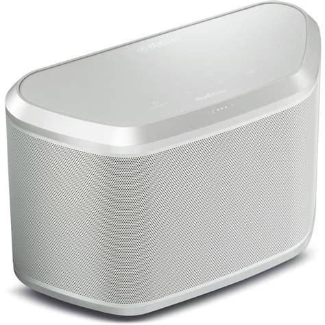 yamaha wx 030 yamaha wx 030 musiccast wireless speaker white silver wx 030wh