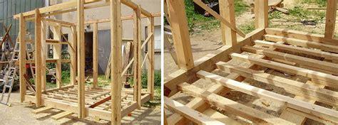 bauplan für terrassenüberdachung konstruktionsholz gartenhaus my
