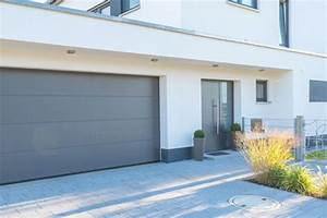 prix dune porte dentree en aluminium budget maisoncom With porte entre garage et maison