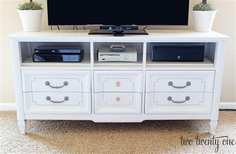 dresser turned into tv stand dresser turned tv stand two twenty one