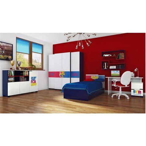 chambre barcelone armoire fc barcelone 150cm azura home design