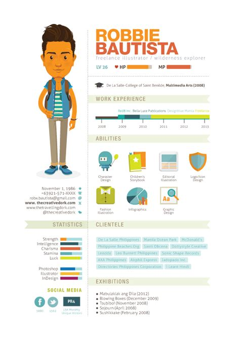 Creative Visualizer Resume by How To Create An Infographic Resume That Will Land You A