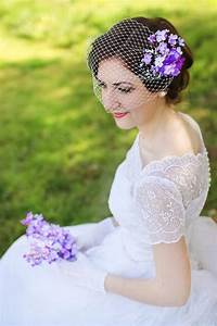 Items Similar To Purple Hair Accessories Lilac Purple