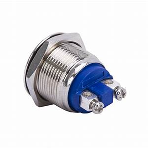 Domed Stainless Steel Push Button Push Buttons And
