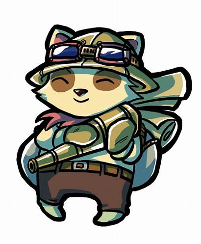 Teemo Deviantart Hoty Legends League Gamesync Gaming