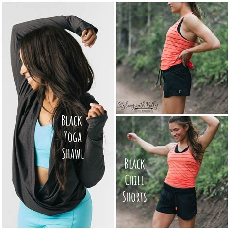 zyia chill shorts active tank releases havana shawl yoga june party marketing sales member