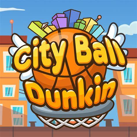 city ball dunkin sports heads games