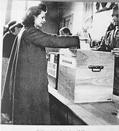 Résultat d'images pour Droit de vote des femmes