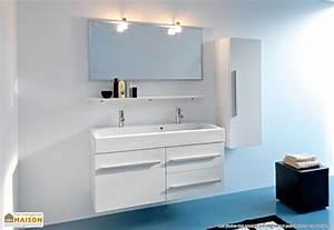 meuble 2 vasques salle de bain With salle de bain design avec meuble 2 vasques