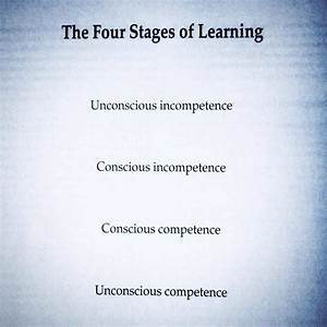 The Four Stages of Learning: a reminder to keep practicing ...
