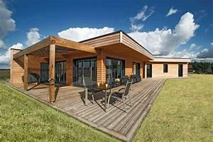Maison Bois Contemporaine : maison bois contemporaine loiret 45 ~ Preciouscoupons.com Idées de Décoration