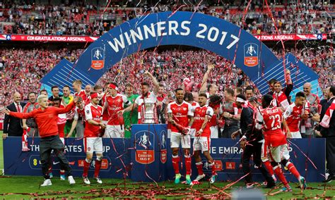 Arsenal Win Record 13th Fa Cup As Aaron Ramsey Header