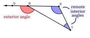 Angle properties of triangles wyzant resources for Remote interior angles geometry definition