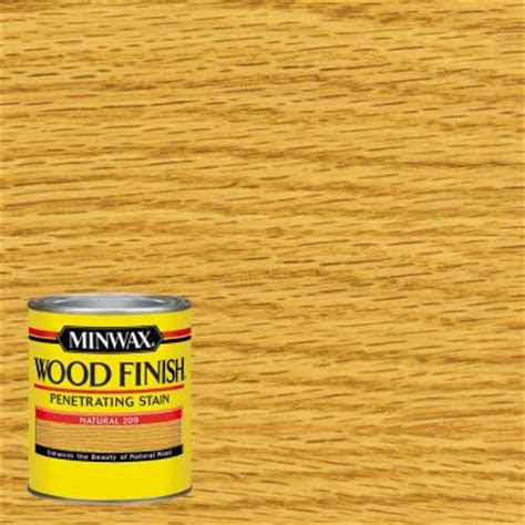 minwax  qt wood finish natural oil based interior stain