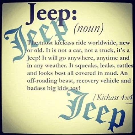 jeep life quotes pin by heidi storehalder on jeep quotes and sayings