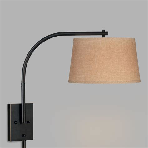 Swing Arm Sconce by Bronze Sweep Swing Arm Wall Sconce World Market
