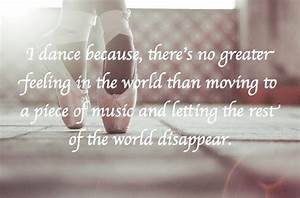 Life en pointe: Dance Quotes