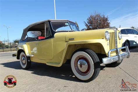 1949 willys jeepster 1949 willys overland jeepster classic w overdrive