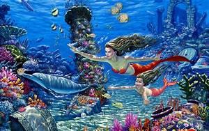 mermaids - Mermaids Wallpaper (30372775) - Fanpop