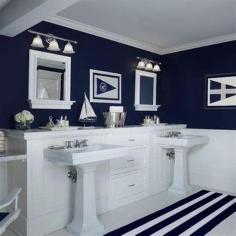 salle de bain style marin  idees pour vous inspirer