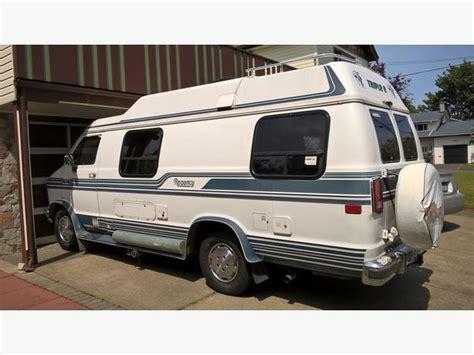 1989 Dodge Camper Van Had Lots Of Work And Is Clean