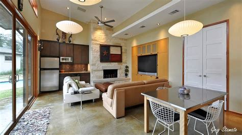 Kitchen Living Room Dining Combination, Decorating A Small