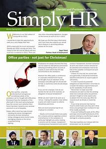 simply hr newsletter winter 10 11 email With hr newsletter template