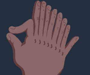 ten fingers   hand drawception