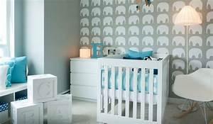 Chambre Bebe Design Scandinave : chambre b b bleu canard d co mobilier et accessoires ~ Teatrodelosmanantiales.com Idées de Décoration