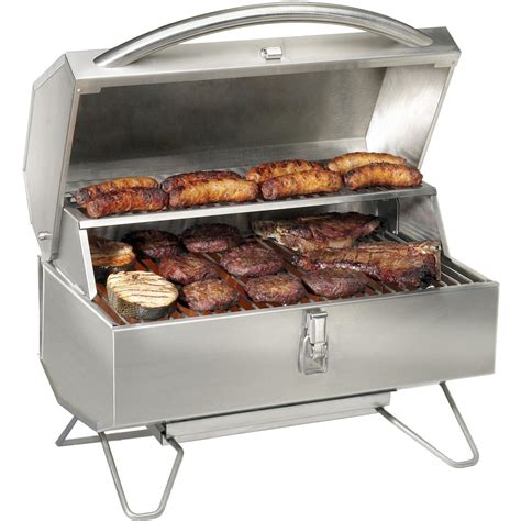 best portable grill napoleon freestyle 215 series portable propane gas grill with infrared burner lifestyle view