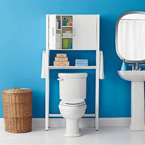 real simple solutions space saving bath cabinet bed bath
