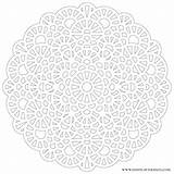 Mandala Crochet Transparent Coloring Mandalas Pages Inspired Printable Lace Eat Pattern Patterns Adult Donteatthepaste Paste Sheets Knitting Difficult Version Doilies sketch template