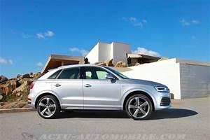 Audi Q3 S Line Versions : essai audi q3 restyl 2 0 tdi 184 s line quattro s tronic actu automobile ~ Gottalentnigeria.com Avis de Voitures