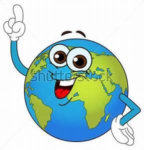Globe Terrestre Carton : globe terrestre cartoon pointant avec son doigt image vectorielle ~ Teatrodelosmanantiales.com Idées de Décoration