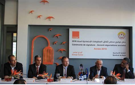 orange tunisie siege orange tunisie et l 39 ugtt signent un accord salarial pour l