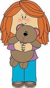 Girl Hugging Teddy Bear Clip Art - Hot Girls Wallpaper