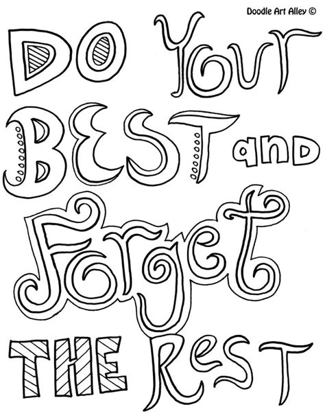 Coloring Quotable Pages Printable by Inspirational Coloring Pages To And Print For Free