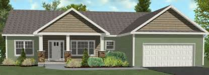 ranch home plans with front porch adh 11w adirondack homes