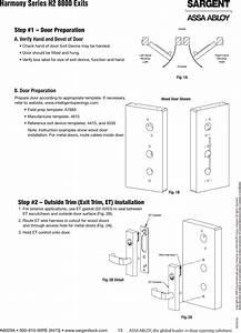 Assa Abloy Wiring Diagrams
