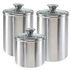 stainless steel kitchen canister enchanting 30 kitchen canister sets stainless steel design ideas of anchor hocking 4pc