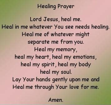 Healing Prayer Images The Healing Prayer How To Pray For A Miracle Healing