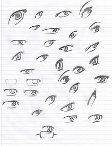 Anime Eyes Reference: Pencil by Verie on DeviantArt
