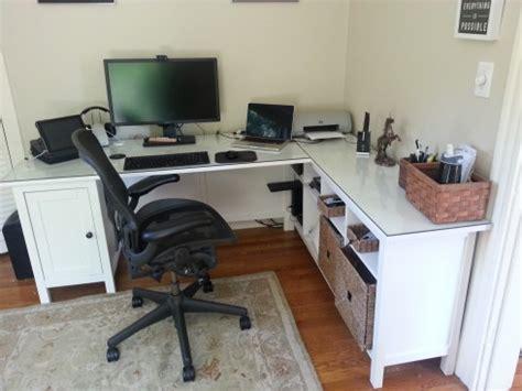 ikea hemnes desk hack home office ikea hack open parenthesis