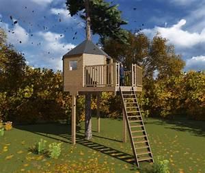 Plan Cabane En Bois Pdf : plan cabane dans les arbres 5 cabanes perch es ~ Melissatoandfro.com Idées de Décoration