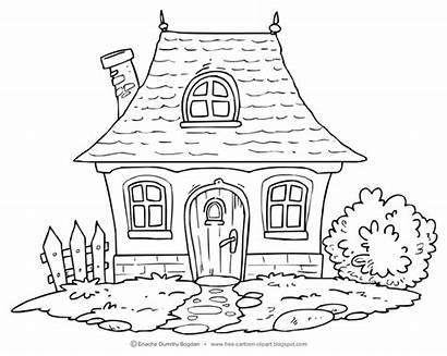 Clipart Cartoon Cottage Watermark Clip Illustrations Cliparts